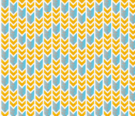 Urban Sightings Chevron v2 fabric by locamode on Spoonflower - custom fabric