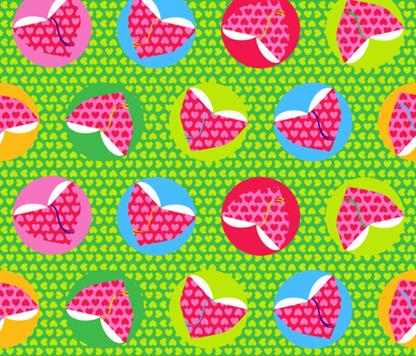 Booklove fabric by nekineko on Spoonflower - custom fabric