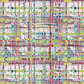 weave mosaic bright