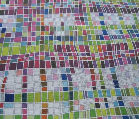weave mosaic bright