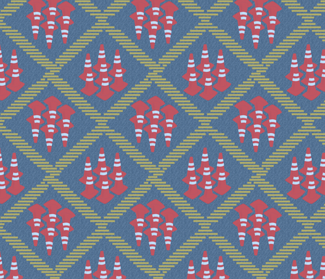 A Cautionary Urban Tale fabric by glimmericks on Spoonflower - custom fabric