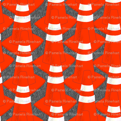 Traffic Cones Parade Rest