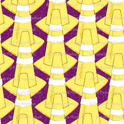 cones  yellow