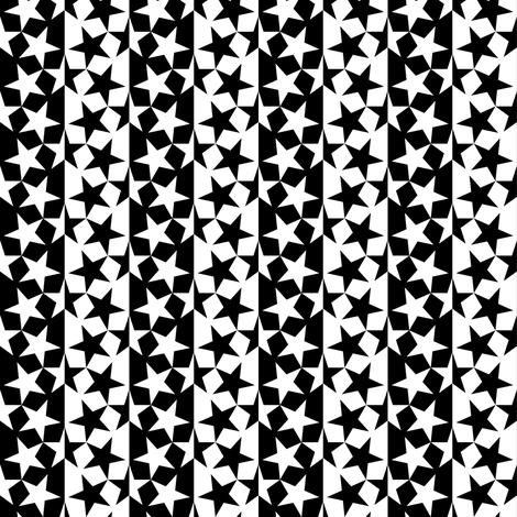 U53 V1 stripe chic fabric by sef on Spoonflower - custom fabric