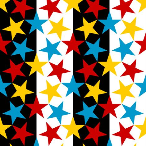 U53 V1 x3 stripe circus fabric by sef on Spoonflower - custom fabric