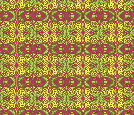Honeyfield fabric by siya on Spoonflower - custom fabric