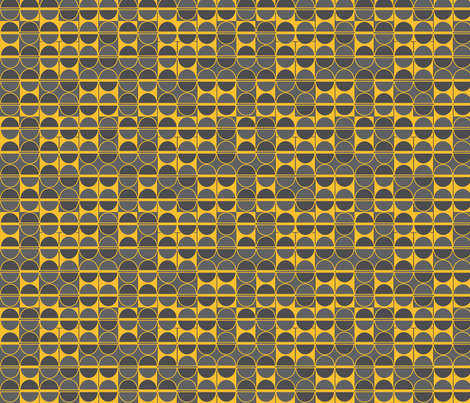 yellow beans fabric by kociara on Spoonflower - custom fabric