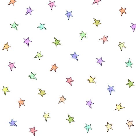 mac's stars fabric by weavingmajor on Spoonflower - custom fabric