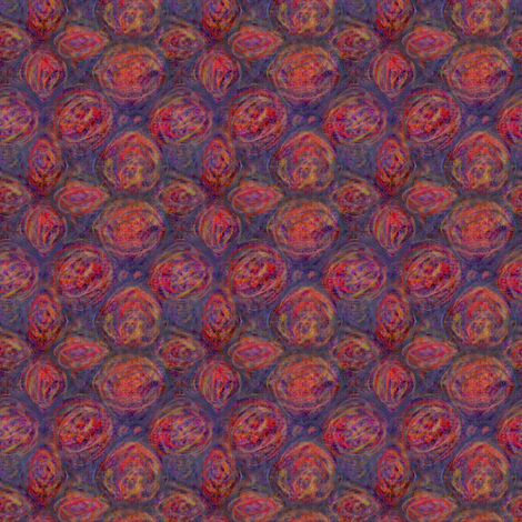 Professor Plum and Miss Scarlet fabric by wren_leyland on Spoonflower - custom fabric