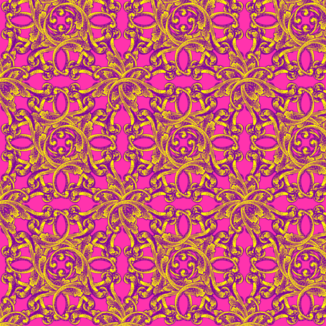 Baroque - Fancy fabric by lavaguy on Spoonflower - custom fabric