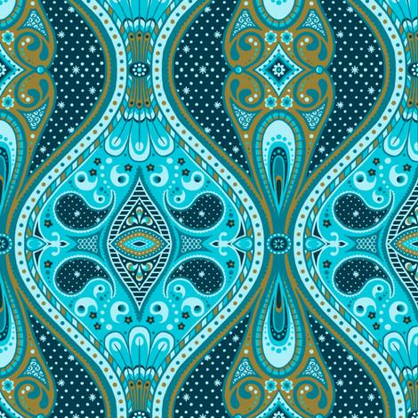Ornamental Night fabric by siya on Spoonflower - custom fabric