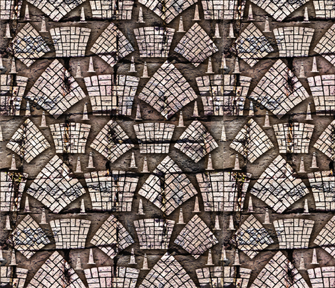 Another brick in the pavement fabric by cassiopee on Spoonflower - custom fabric