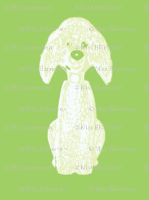 Oscar Dog green small