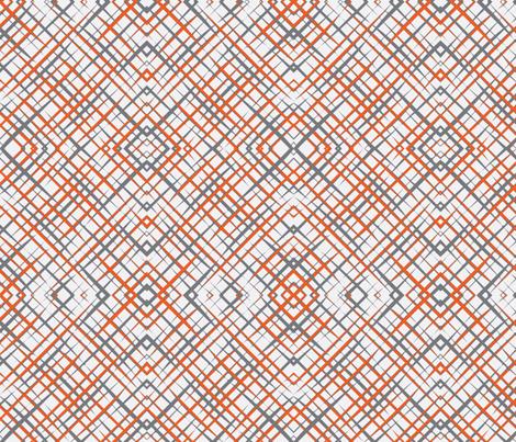 Brush_Plaid_White fabric by lkglioness on Spoonflower - custom fabric