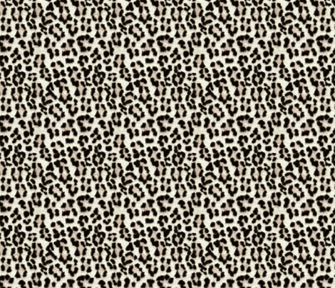 Snow Leopard bigger and better fabric by glimmericks on Spoonflower - custom fabric