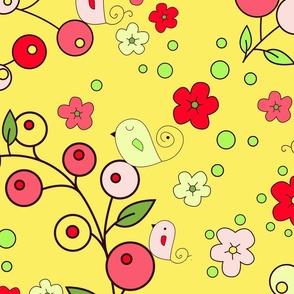 Berry Birdie Summer