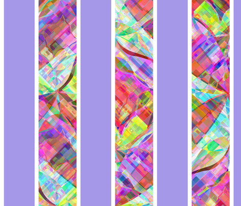 cut_glass_stripe_periwinkle fabric by glimmericks on Spoonflower - custom fabric