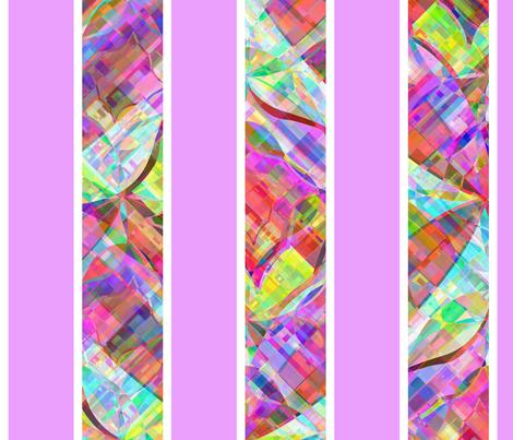 cut_glass_stripe_orchid fabric by glimmericks on Spoonflower - custom fabric