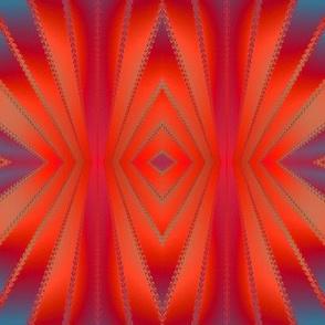 southwestern red