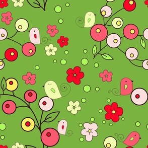 berry summer green