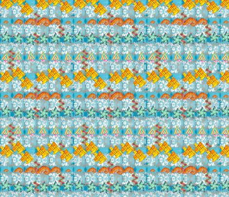 Staycation fabric by pd_frasure on Spoonflower - custom fabric