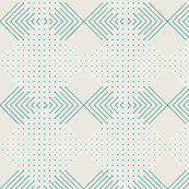 SUMMER GEOMETRIC stripes/circles 2