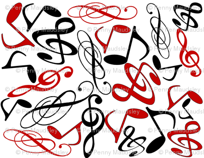 MUSICAL NOTES MELODY