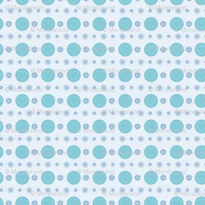 dotty hearts (blue)