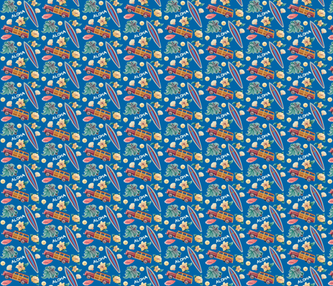 Aloha_Woody fabric by julistyle on Spoonflower - custom fabric