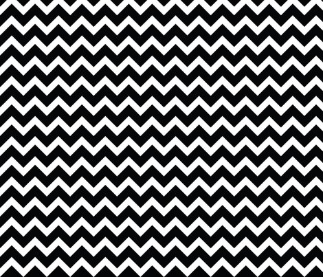 Black And White Chevron Wallpaper Sweetzoeshop Spoonflower