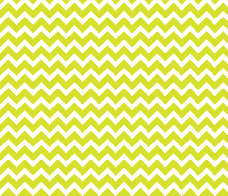 Lime Chevron fabric by sweetzoeshop on Spoonflower - custom fabric