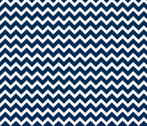 Navy Chevron Wallpaper Sweetzoeshop Spoonflower