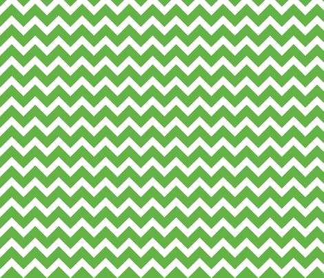 Green Chevron fabric by sweetzoeshop on Spoonflower - custom fabric