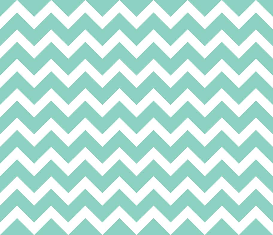 Aqua Chevron Wallpaper