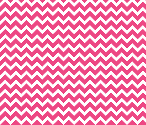 Hot Pink Chevron fabric by sweetzoeshop on Spoonflower - custom fabric
