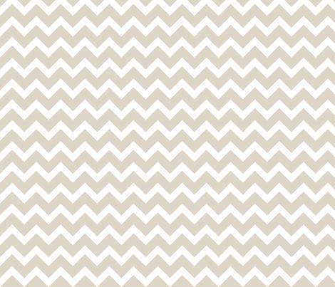 Linen Beige Chevron fabric by sweetzoeshop on Spoonflower - custom fabric