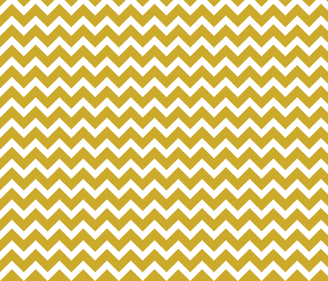 Gold Chevron fabric by sweetzoeshop on Spoonflower - custom fabric