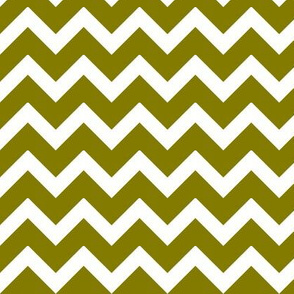 Olive Green Chevron