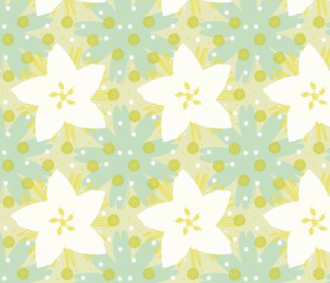 Blue Susan fabric by brainsarepretty on Spoonflower - custom fabric