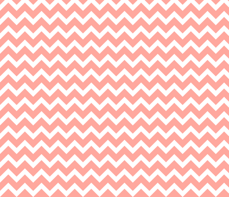 Pink Chevron fabric by sweetzoeshop on Spoonflower - custom fabric