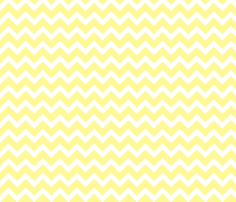 Pastel Yellow Chevron fabric by sweetzoeshop on Spoonflower - custom fabric