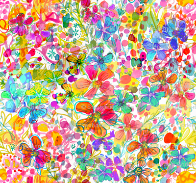 Bubble Flower Garden