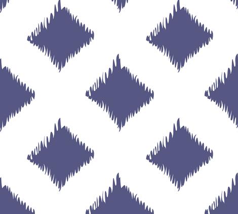 Ikat fabric by megankaydesign on Spoonflower - custom fabric