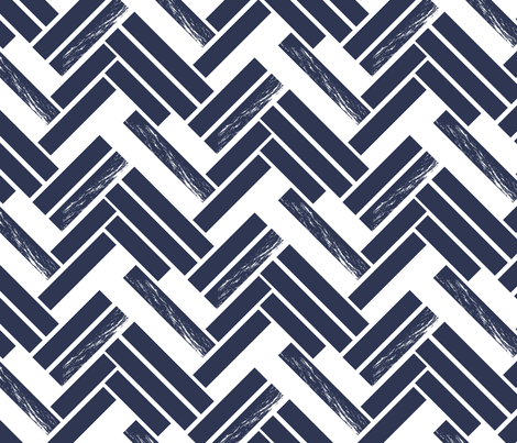 Sketch Chevron in Ink fabric by me-udesign on Spoonflower - custom fabric