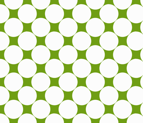 Green Dots fabric by natitys on Spoonflower - custom fabric