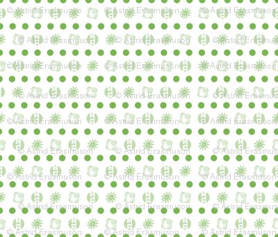 KIWI•FRUIT: spots n' stripes co-ordinate