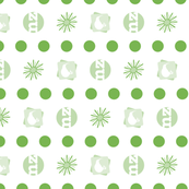 KIWI•FRUIT: spots n' stripes co-ordinate