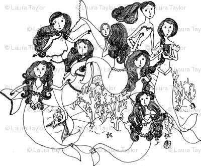 Merry Band of Mermaids