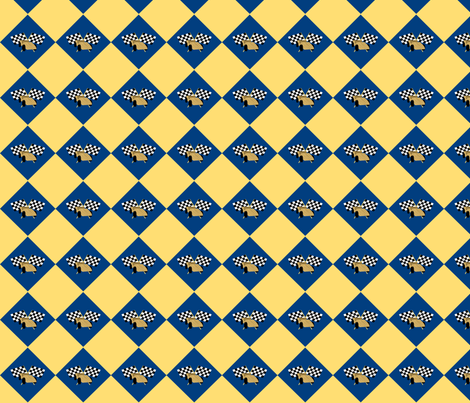 derby diamond fabric by evenspor on Spoonflower - custom fabric