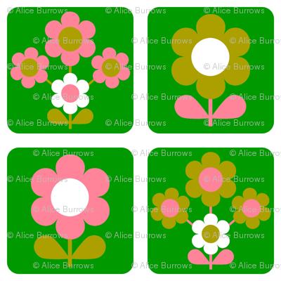 green_flower_block